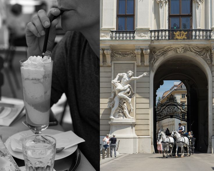 Eiskaffee in Vienna with Marielouphotography ©2016 #marielouphotography #travelphotography #travel&lifestyle #foodphotography #vienna #europe #viennese #Wien #austria #summer #coffee #icecoffee