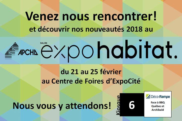 Salon Expo Habitat Québec 2018 (Cliquez sur l'image pour lire la nouvelle)