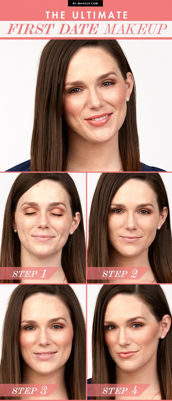 Got a hot date tonight? Here's a great tutorial for the perfect first date makeup. This look is classic and refined. Here's how to get the look.