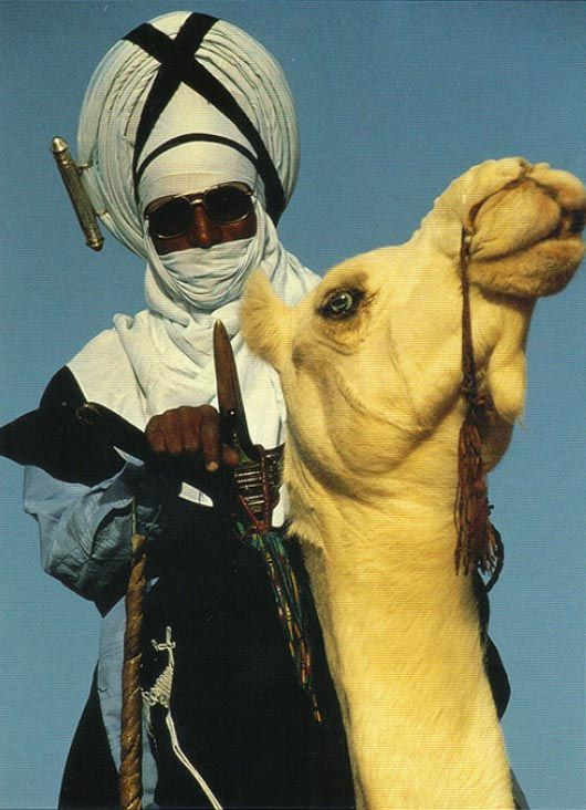A Tuareg warrior in Niger.