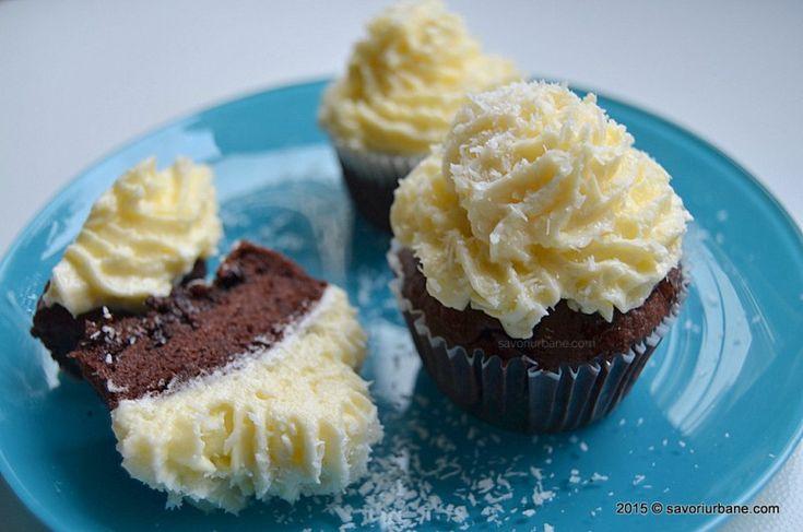 Briose cu ciocolata si cocos Savori Urbane (7)