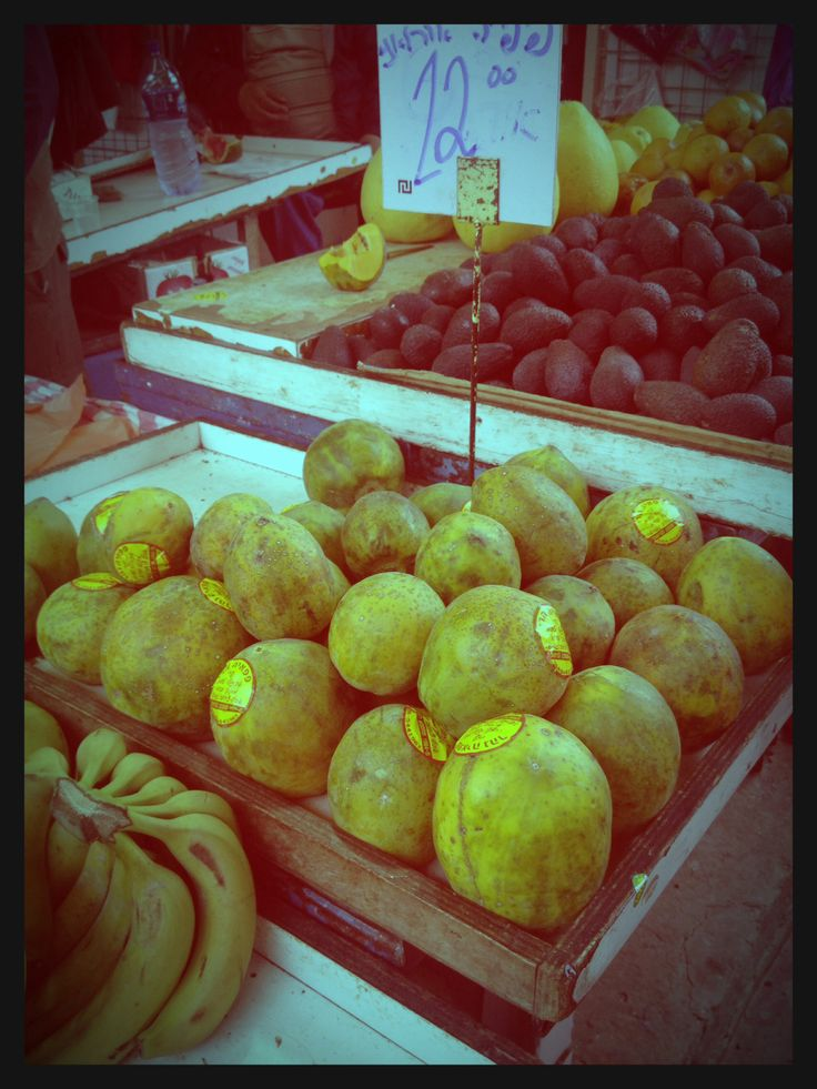 Market in Tel Aviv