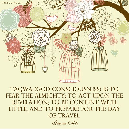 A complete definition of #Taqwa (God consciousness)