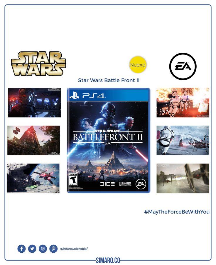 Videojuego Star Wars Battlefront II (PS4) 👉🏻https://goo.gl/Zzqkgp @SimaroColombia @starwars @ea #EA #StarWars #StarWarsBattleFrontII #Juguetes #Toys #VideoGames #MayTheForceBeWithYou #Jedi #Sith #PS4 #SimaroColombia #SimaroCo 🇨🇴 #LoEncontramosPorTi #SimaroBr 🇧🇷 #SimaroMx 🇲🇽 #Navidad #Christmas 🎉🎅🎊#Regalo #Gift