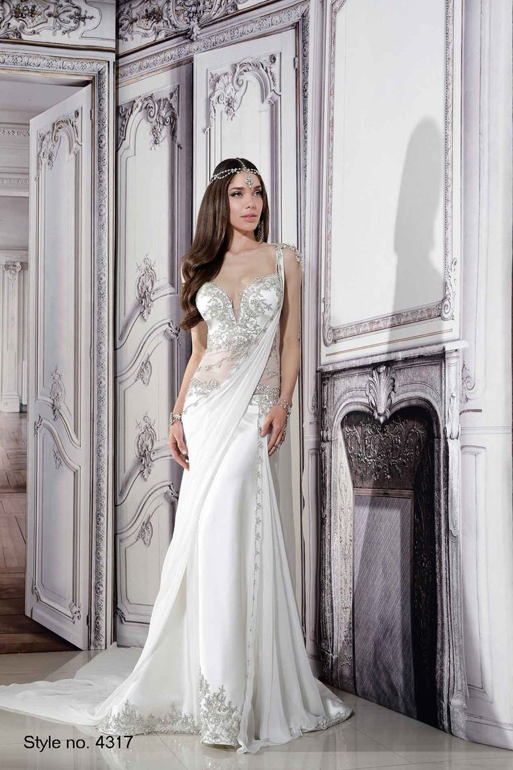 Interview with Pnina Tornai | Pnina Tornai's Spring 2015 collection hit the runway at New York's Bridal Market earlier this month! | Inspired by the traditional sari |