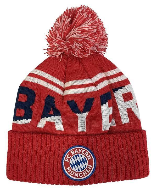 16779c130504d5 FC Bayern Munich Pom Beanie 2018/19 | BYBN-R-30 | FC Bayern Munich ...