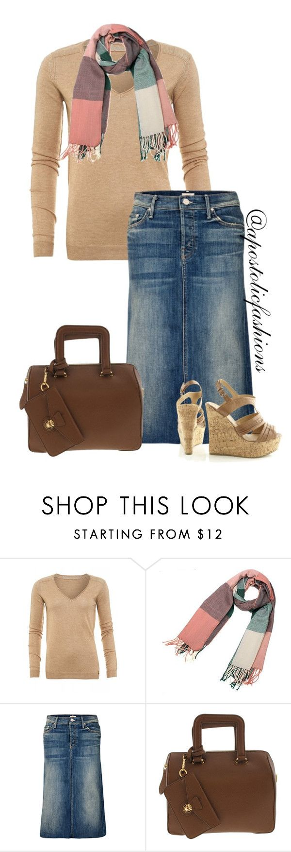 """""""Apostolic Fashions #1071"""" by apostolicfashions ❤ liked on Polyvore featuring Patrizia Pepe, Mother, women's clothing, women, female, woman, misses and juniors"""