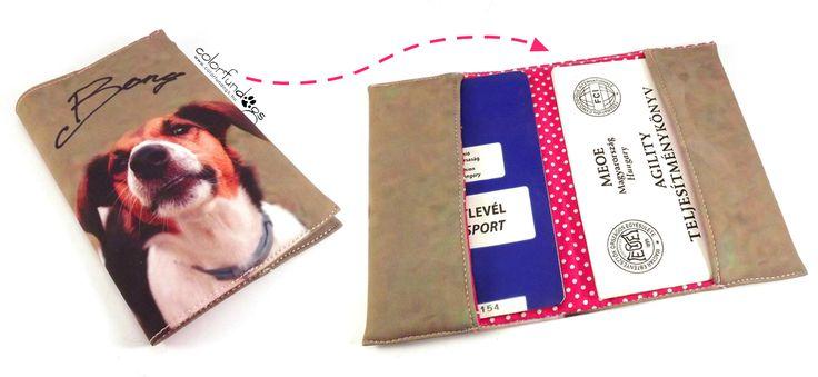 Egyedi útlevéltartó / Unique passport holder