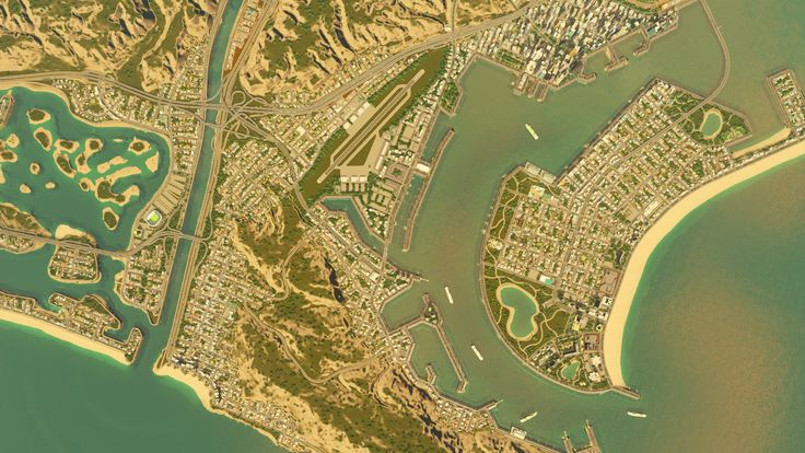 Something I've been working on! | Cities: Skylines Inspiration
