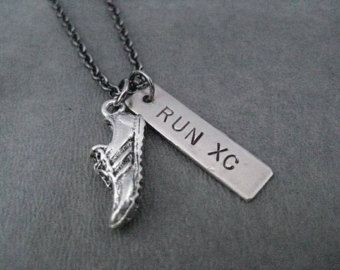 Cross Country Run Cross Country Running Necklace on by TheRunHome