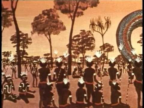 The Rainbow Serpent - Aboriginal Children's Story.