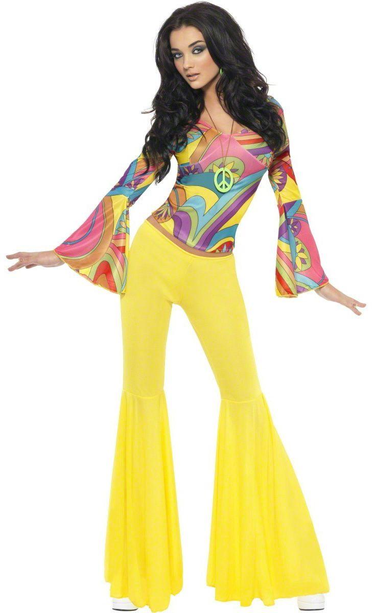 Costume Hippy Anni '70 donna