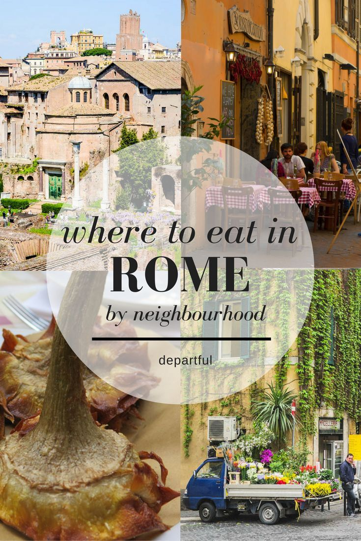 A guide to the best food in Rome / Where to eat in Prati / Where to eat in Campo de'Fiori / Where to eat in Trastevere / Where to eat in Testaccio