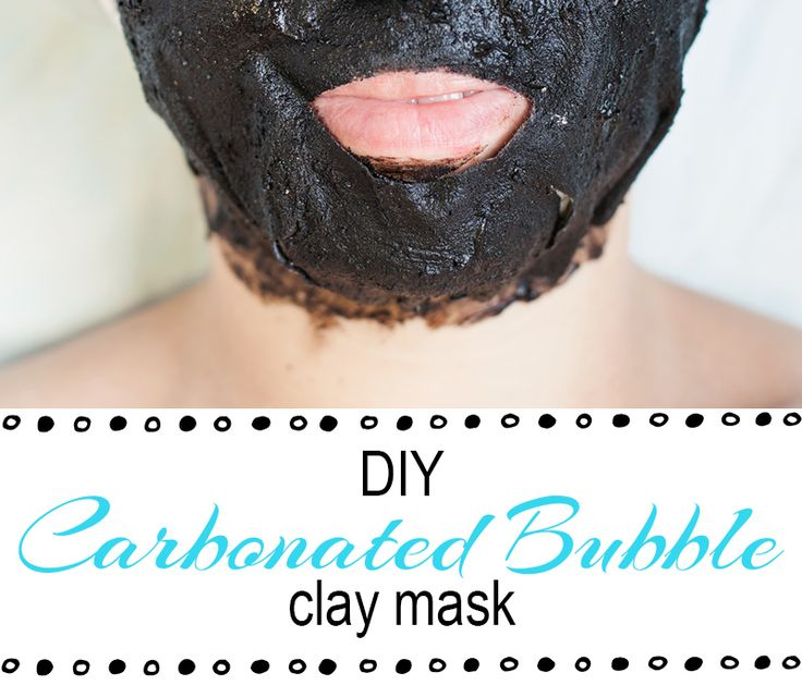 DIY Carbonated Bubble Clay Mask - How I made a bubble mask at home. It was fun but messy! It's great for your skin and left me feeling so clean!