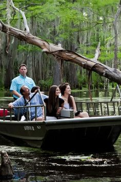 Just outside of New Orleans in Slidell, Louisiana is Honey Island Swamp Tours.... Just did this,DEFINATELY recommend !