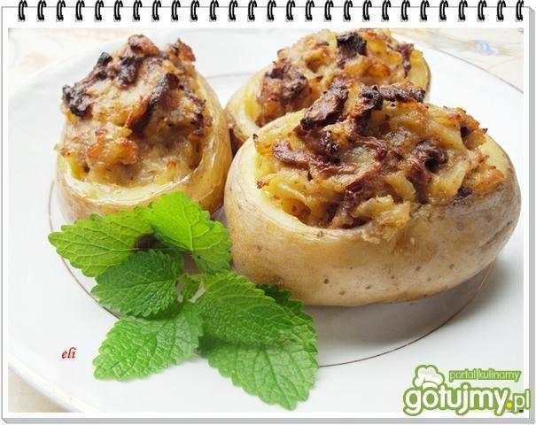 Ziemniaki faszerowane kurkami. Zainspiruj się!