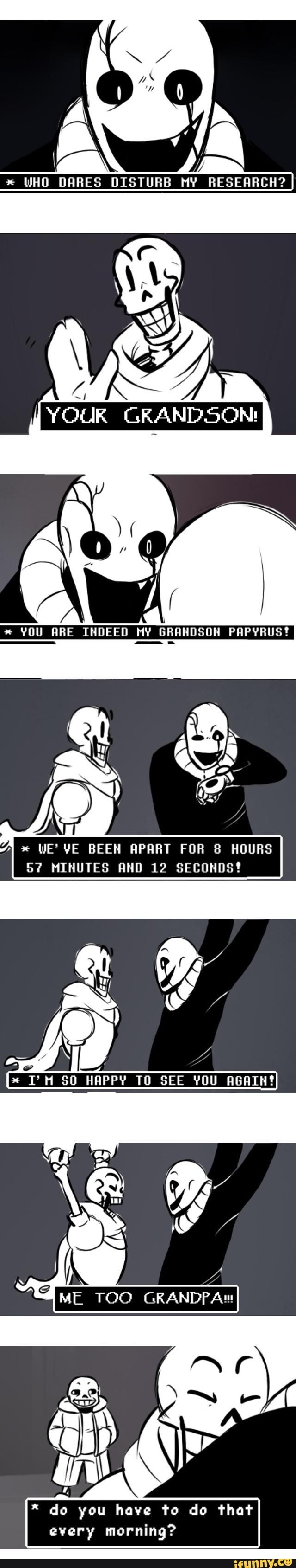 undertale, sans, papyrus, gaster-- Literally their relationship.