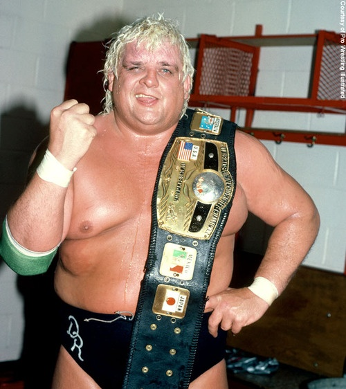 NWA World Heavyweight Champion Dusty Rhodes