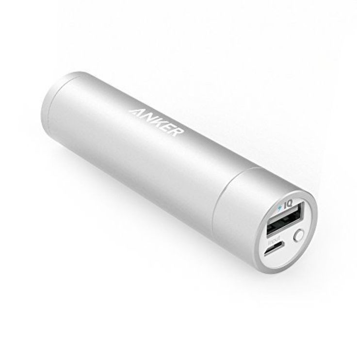 Anker Power Core+ mini 3350 mAh  Portable Charger 3rd Generation Silver #Anker