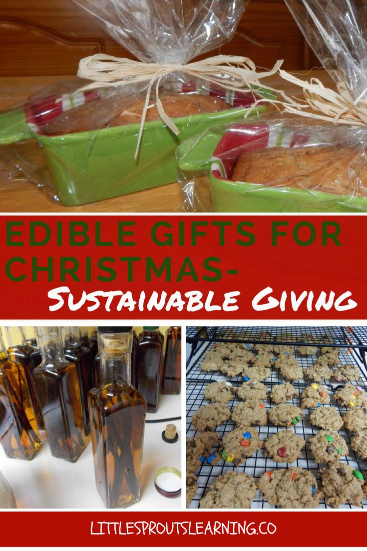 Christmas can come at a great price to the environment. I love giving edible gifts because I can control the amount of packaging, and cut down on waste.