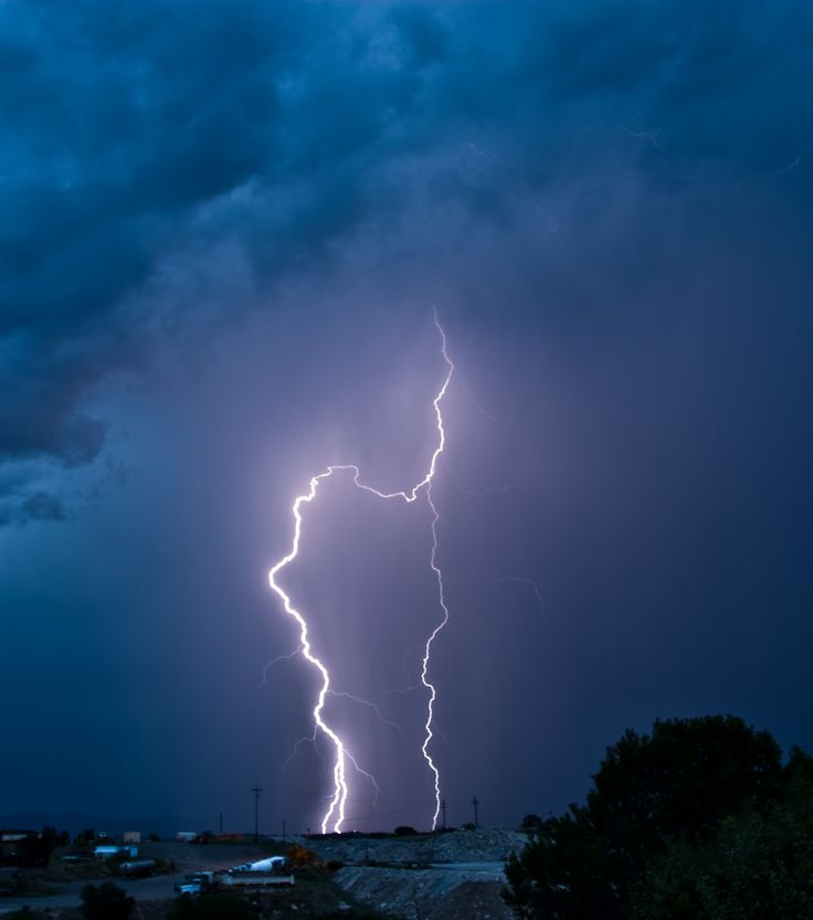 lightning | lightning detector may just save your life. photo by deansouglass on ...