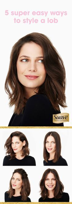 Love your lob. From work life to date night, these simple, easy-to-conquer looks will have you looking polished, minus all that effort. Go for a straight, sleek look that's sophisticated, yet effortless. For glam waves that are casually chic, wrap hair around a flat iron and work your way down. Add sea salt spray for subtle, beachy waves - great for a night out with friends. On the hunt for more looks? Click here to read on!