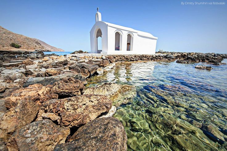 GREECE CHANNEL | The chapel of Agios Nikolaos in Georgioupoli, #Chania, #Crete, #Greece http://www.greece-channel.com/
