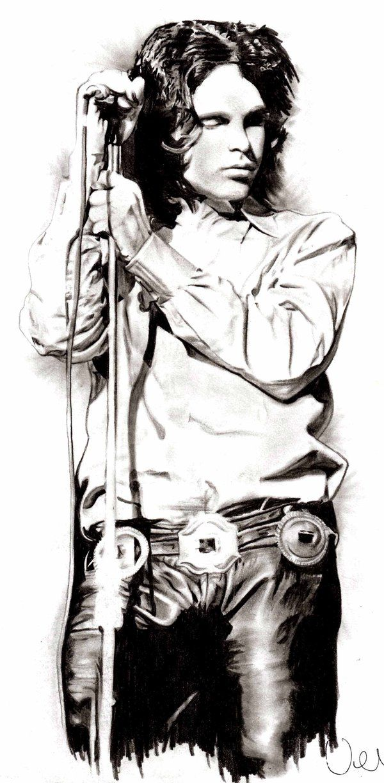 Jim Morrison by AZIZA-FEMI.deviantart.com