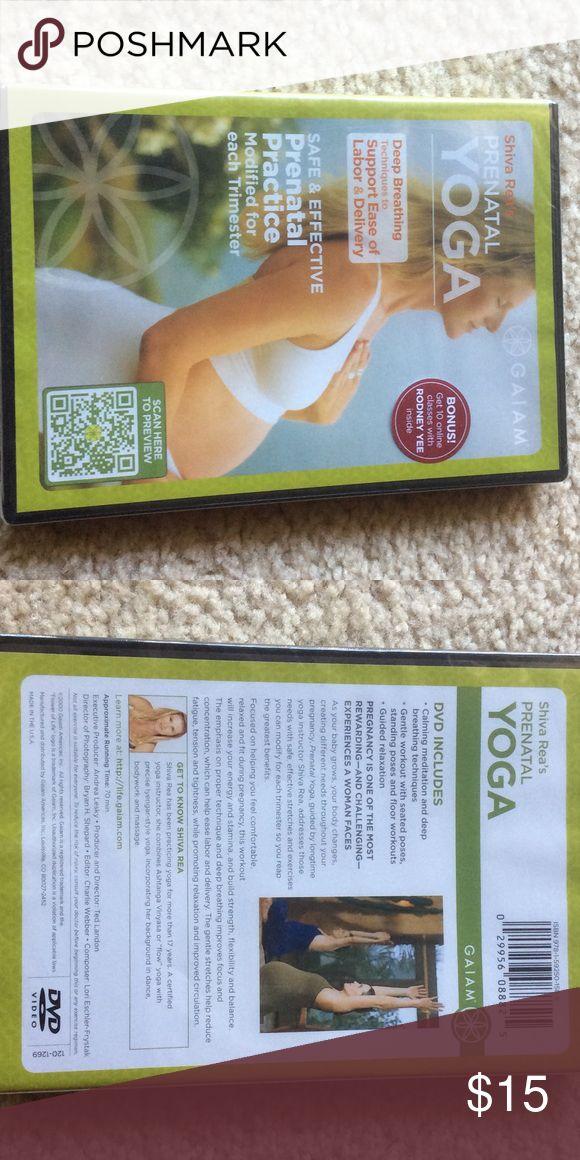 Prenatal Yoga DVD Please see photos for description. Thanks🤰🏼 Gaiam Other