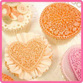 Cake Decorating Lace Designs