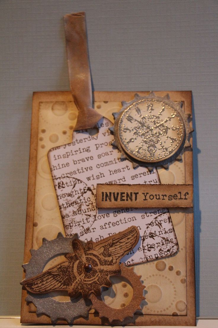 invent yourself male card kaszazz workshop