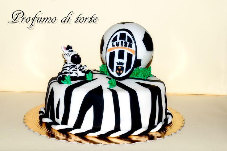 Juventus Torta In Pasta Di Zucchero Pan Di Spugna