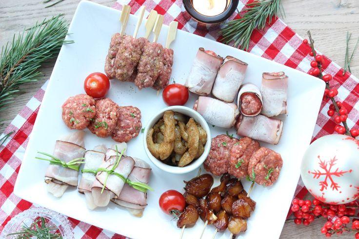Zelf een gourmetschotel maken voor #kerstmis . Je leest hoe makkelijk het is op eethetbeter.nl, het foodblog met gezonde recepten voor het hele gezin! #kerst #recept