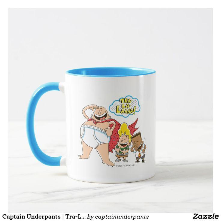 Captain Underpants | Tra-La-Laaaa! Regalos, Gifts. Producto disponible en tienda Zazzle. Tazón, desayuno, té, café. Product available in Zazzle store. Bowl, breakfast, tea, coffee. #taza #mug