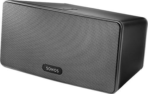 Sonos - PLAY:3 Wireless Speaker for Streaming Music - Black