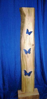 Kreativer HolzBretter mit Ständer zur Dekoration für den Innen- und Außenbereich