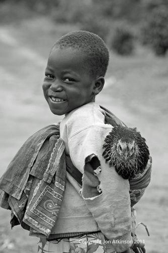 On the way back from market, Tanzania