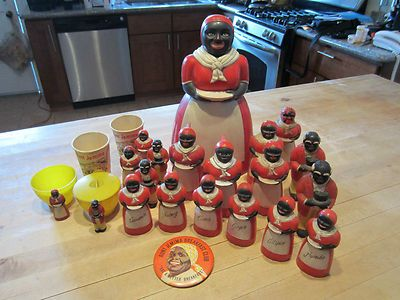 Aunt Jemima Kitchen Set Black Americana