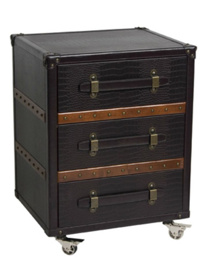 Delightful Brooks Bedside Or Lamp Table   Trunk Furniture With Style U2013 Allissias Attic  U0026 Vintage French