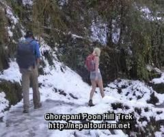Ghorepani Poon hill trekking is the great introduction to Annapurna region trekking. Ghorepani Poon hill trekking trail is an incredibly accepted short-cut trekking trail enjoyed by trekkers visiting Nepal interested in the Annapurna region.