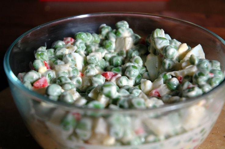 pea salad y'all.  it's good eats