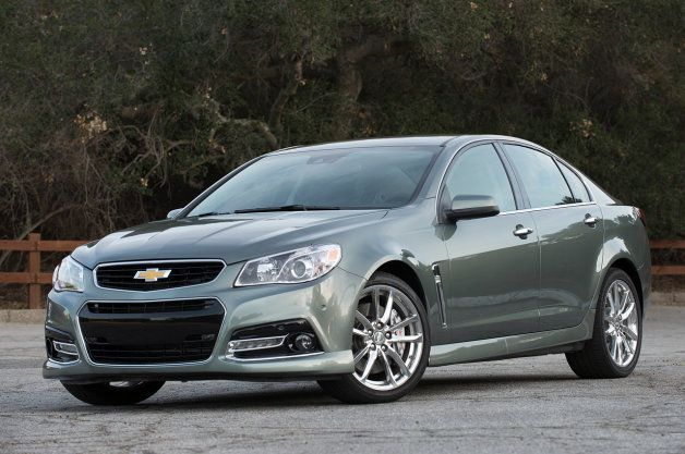 2015 Chevy SS manual, magnetic shocks confirmed by order guide tred.com