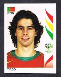 Image result for germany 2006 panini portugal tiago
