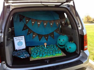 41 best Non-Sweet Treats images on Pinterest Teal pumpkin project - halloween trunk or treat ideas