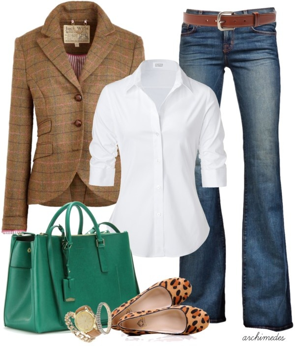 """""""Jack and Jill"""" by archimedes16 on Polyvore Don't like the shoes. Beyond that, would be a great work outfit paired with a skirt or a weekend outfit."""