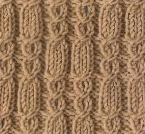 узоры кос со схемами по вязанию