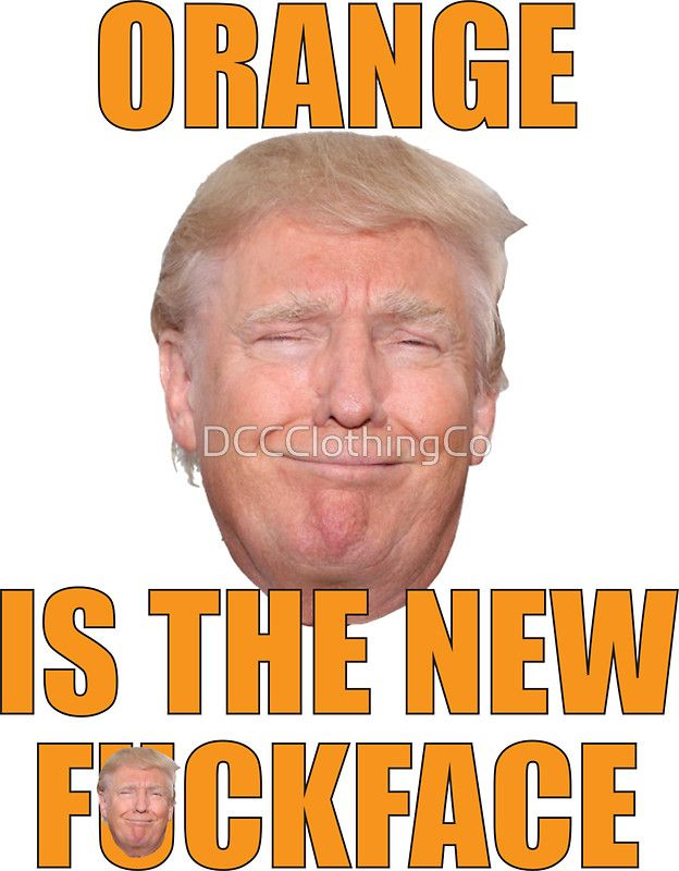 Bill Maher Trump T-shirt Orange Is The New Face