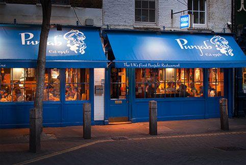 Punjab Indian Restaurant London Covent Garden