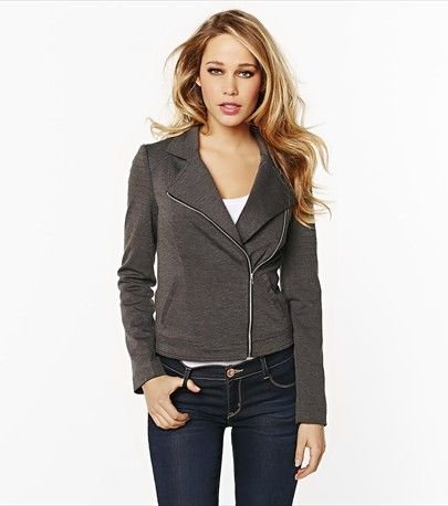High Low Perfecto Jacket