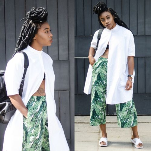 Modern Urban Black Girl